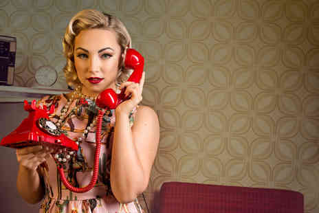 The Click Group - 1950s style Peggy Sue pin up photoshoot for one including an A5 image, digital download and £100 of vouchers - Save 91%