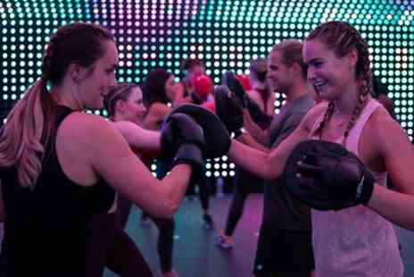 New Motion - Five or Eight Sessions of Boxing, HIIT, Yoga or Rave Fit Classes with Live DJ - Save 64%