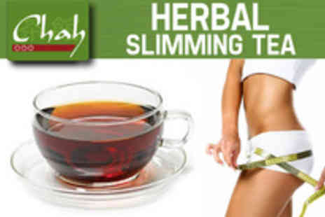 Chah - Help hone your pre holiday body with a pack of Chah Slim Down blend tea - Save 52%