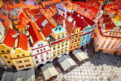 Worldwide Tours & Travel - Two or three night Prague city stay with breakfast, Grand City Tour and return flights - Save 45%