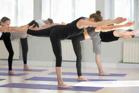 In Balance Hot Yoga - Five or Ten Yoga Class Passes for One or Two - Save 64%