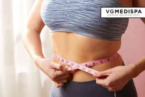VGmedispa - 3D Lipolysis on One or Two Areas with Consultation - Save 87%