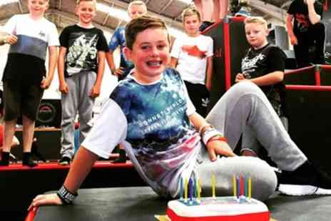 Airborn Academy - Indoor Freerunning Party for Ten Kids - Save 28%