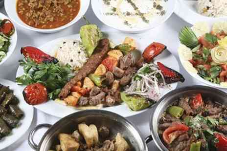 Turquoise Kitchen - Meze, Meat Platter and Dessert for Up to Six - Save 54%