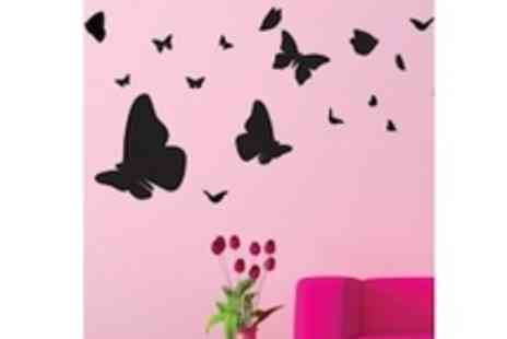 Ambiance Live - £25 to spend on beautiful wall stickers - Save 68%
