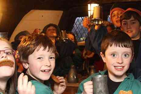 Encore Tickets - Sleepover Experience On The Golden Hinde, An Overnight Living History Experience April - Save 14%