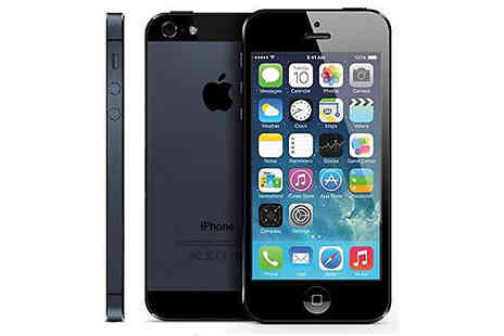 E Circuits - Apple iPhone 5 16GB or 32GB Choose from 2 Colours - Save 55%