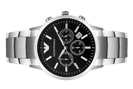 AW Watches - Emporio Armani Mens Chronograph Watch With Free Delivery - Save 63%