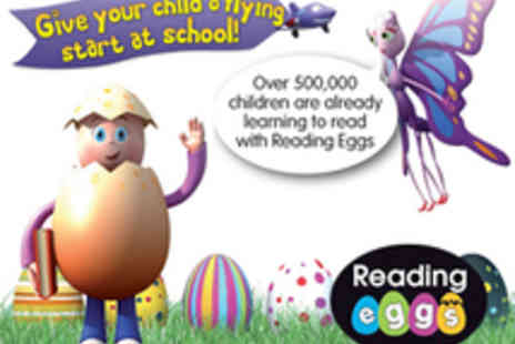 Reading Eggs - 12 month subscription to an online childrens reading programme - Save 53%