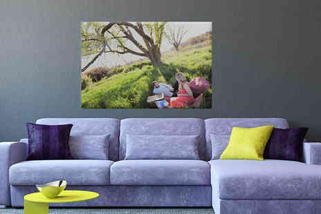 Your Perfect Canvas - A0 personalised canvas upload your most cherished snap - Save 79%