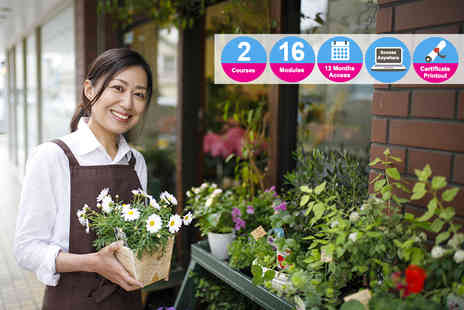 Vizual Coaching - Floristry and business management diploma - Save 90%