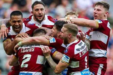 Wigan Warriors - Adult and child ticket to see Wigan Warriors vs Sydney Roosters on Sunday 17th February - Save 42%