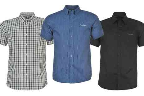 Groupon Goods Global GmbH - Pierre Cardin Short Sleeved Shirt in Choice of Colour - Save 0%