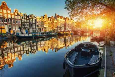 Hotel Amsterdam De Roode Leeuw - Four Star Historic Hotel Stay For Two in City Centre - Save 72%