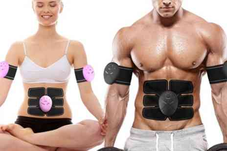 Groupon Goods Global GmbH - Three in One ABS Legs and Arms Stimulator and Muscle Toner - Save 60%