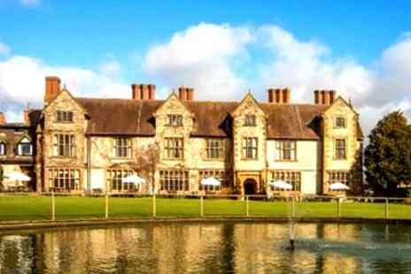 Billesley Manor Hotel - One or Two Nights Stay for Two with Breakfast, Dinner, Wine and Late Check Out - Save 27%