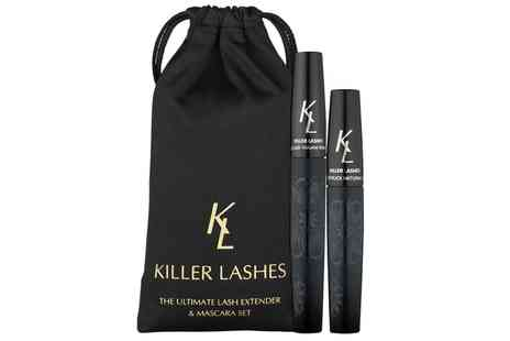 Groupon Goods Global GmbH - One or Two Killer Lashes Lash Extender and Mascara Sets - Save 0%