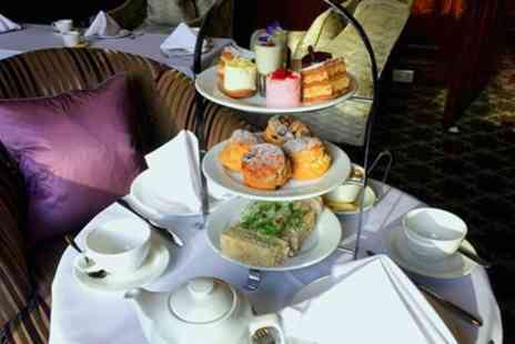 Macdonald Frimley Hall Hotel - Afternoon Tea with Optional Glass of Prosecco for Two or Four - Save 60%