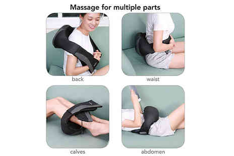 Home Season - Electric Heated Kneading Massage Sling - Save 69%