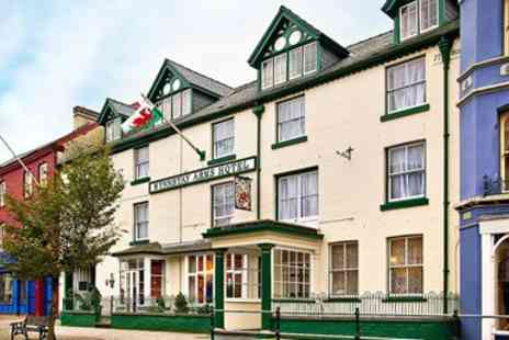 The Wynnstay Hotel - Mid Wales coaching inn stay with dinner - Save 49%