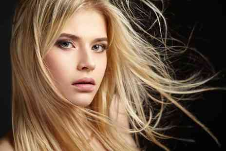 The salon Hair and Beauty Romford - Half head of highlights with a wash, cut and blow dry - Save 68%