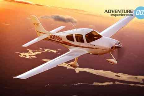 Adventure 001 - Land Away Double Flying Lesson for One or Two - Save 46%