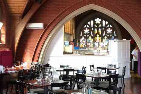 Plates & Co - Lunch for 2 in former chapel near Bournemouth - Save 54%