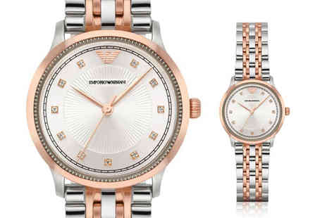 Best Watch Company - Ladies Emporio Armani AR1962 watch - Save 68%