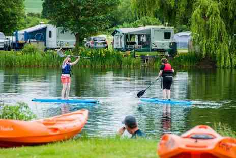 Adventure Rutland - Stand up paddleboarding session for two or four people on the River Nene - Save 51%