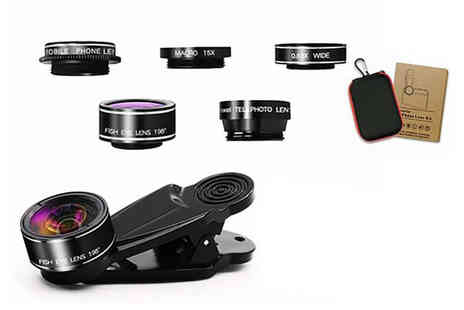 Gifts I Want - 7 in 1 clip on smartphone camera lens - Save 74%