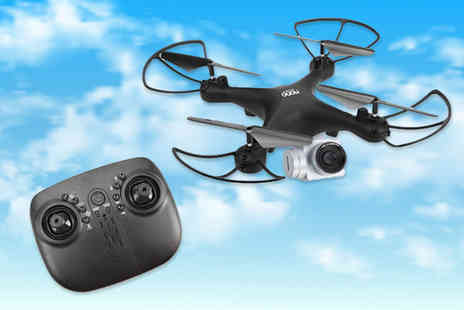 Black Feather - Night Hawk ultimate RC HD camera drone - Save 54%