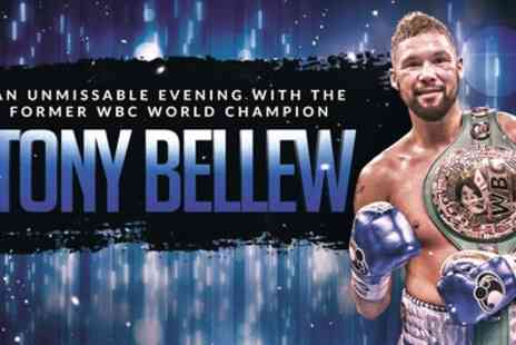 Show Fighter - One standard ticket to Evening with Tony Bellew on 16 February 2019 - Save 41%