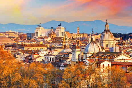 Tour Center - Two or Three Night Hotel Stay With Flights & Colosseum Tour - Save 0%