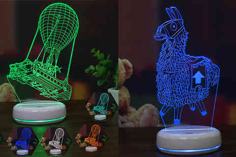 Best mall ever - Colour Changing 3D Led Gamer Night Lights Choose from 4 Designs - Save 80%