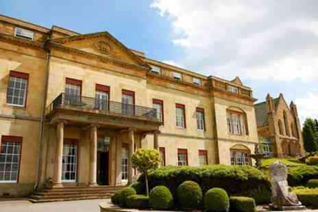 Shrigley Hall Hotel - One or Two Nights Stay for Two with Breakfast, Dinner, Lesiure and Wine or Tea - Save 0%