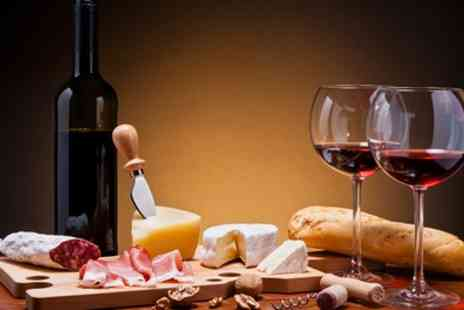 The Queens Hotel - Cheese, Wine and Charcuterie Experience for Two or Four - Save 50%