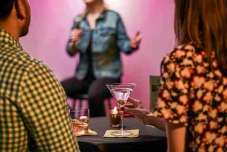 ROFL Comedy Club - Comedy Night for Two with Bottle of Prosecco or Four Beers of Choice - Save 37%
