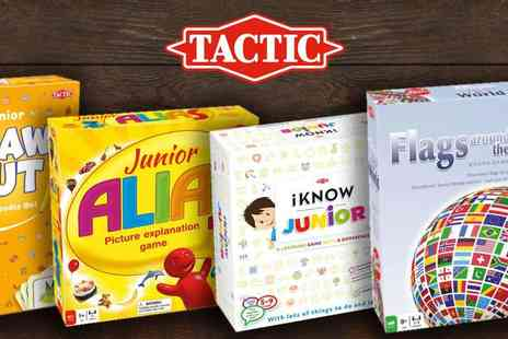 Tactic Games - Family activity games, Make Memories this Christmas plus Free Delivery - Save 41%