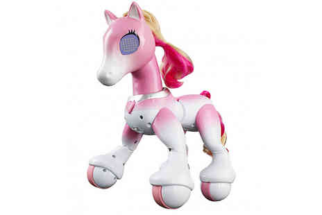 HXT Goods - Musical Interactive Remote Control Pony Walks, Dances And Eats - Save 71%
