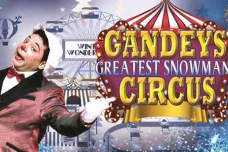 Gandeys Circus - One ringside ticket to The Greatest Snowman Circus show on 7 December 2018 To 1 January 2019 - Save 56%