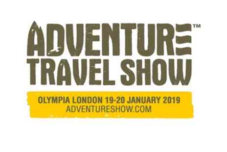 Adventure Travel Show - One or two tickets to Adventure Travel Show on 19 To 20 January 2019 - Save 24%