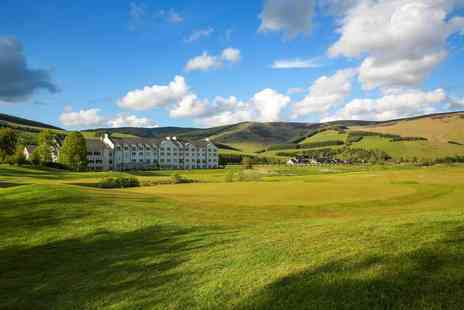 Macdonald Cardrona Hotel - An Elemis Luxury Spa, His and Hers or Golfers Delight overnight stay package for two people with breakfast - Save 46%