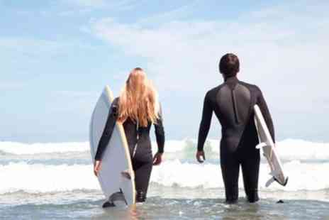 Sorted Surf School - Two Hour Group Surfing or Paddleboarding Lesson for Two or Four - Save 42%