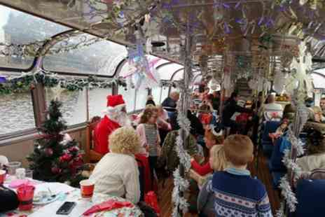 Manchester River Cruises - Cruise with Father Christmas - Save 0%