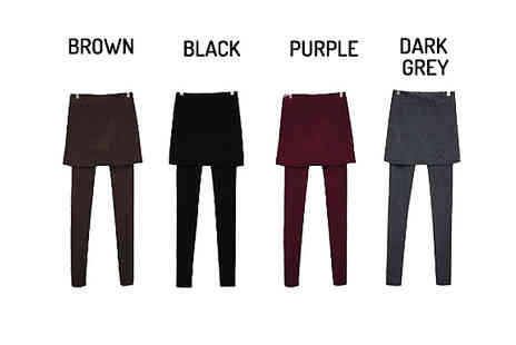 Marcus Emporium - Winter Skirt Leggings Available in 4 Colours - Save 79%