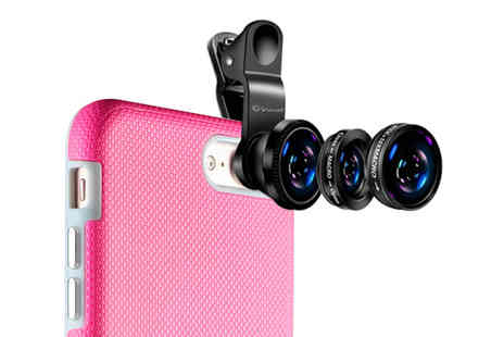 Gifts I Want - 3 in 1 mobile phone camera lens - Save 71%