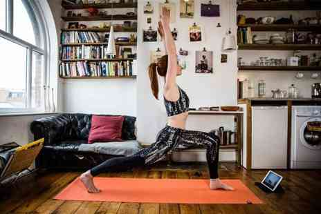 Yogaia - One month subscription to Yogaia up your yoga game - Save 67%