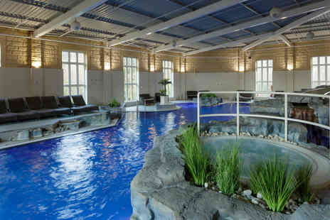 Slaley Hall - Luxury spa day with a choice of two 25 minute treatments and a three Course lunch for one person - Save 55%