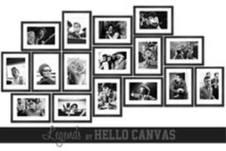 Hello Canvas - Large Limited Edition Legend 24x32 Canvas Print  - Save 53%