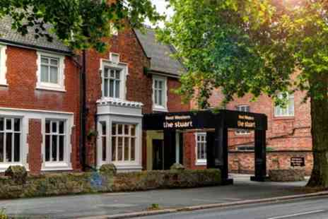 The Stuart Hotel - One or Two Nights Stay for Two with Breakfast, Wine and Option for 2 Course Dinner - Save 53%